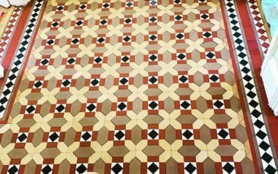 Victorian Tile Restoration in Bristol
