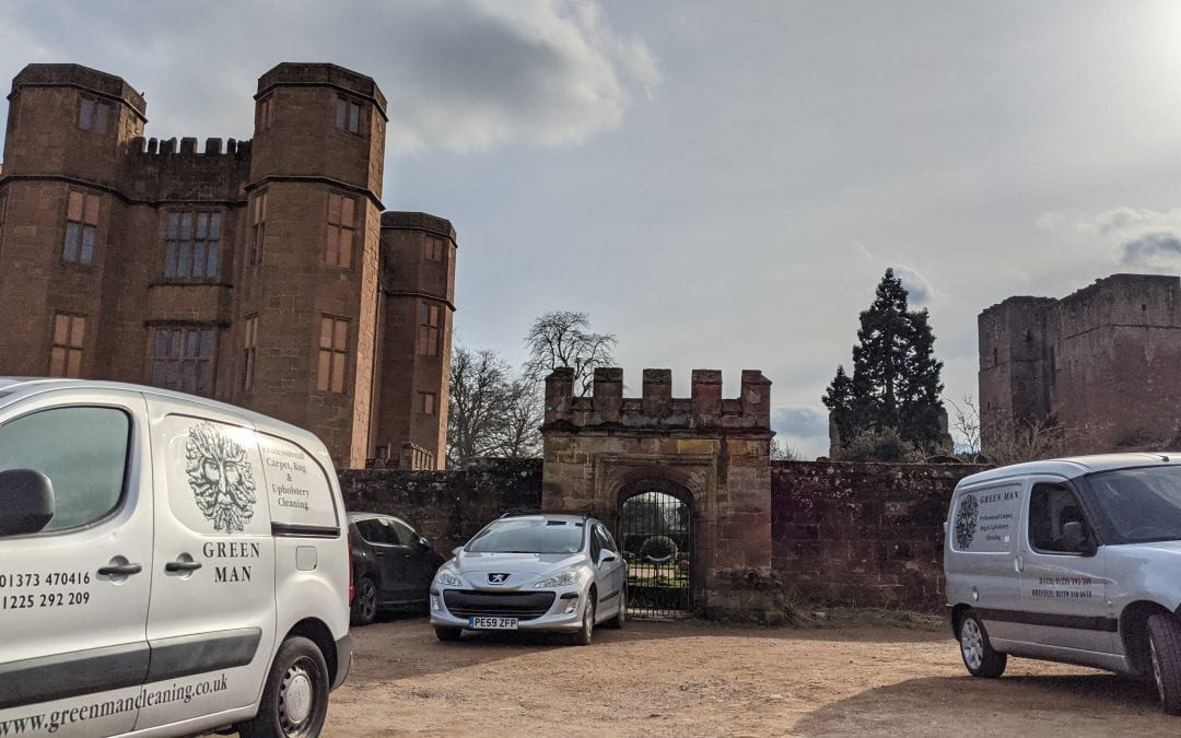 Sisal repair at Kenilworth Castle