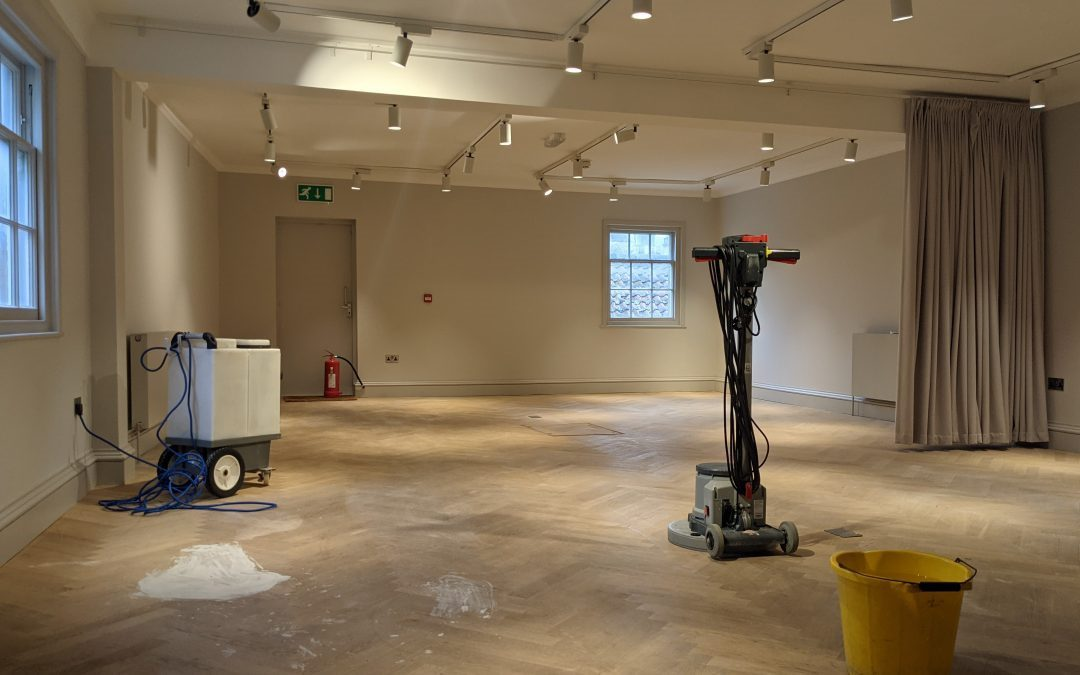 Commercial Wood Cleaning